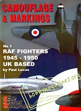 Camouflage & Markings : RAF Fighters 1945-1959 UK Based