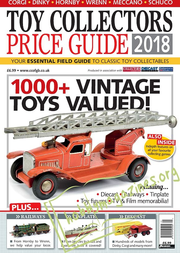 Toy Collectors Price Guide 2018