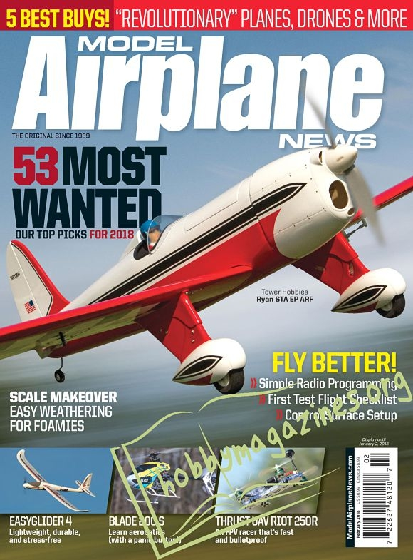 Model Airplane News - February 2018