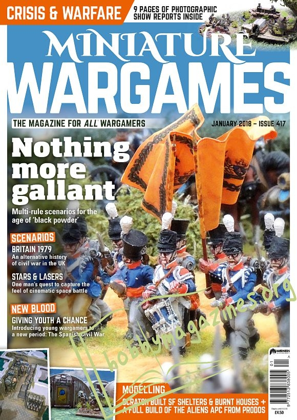 Miniature Wargames - January 2018