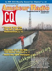 CQ Amateur Radio - August 2017