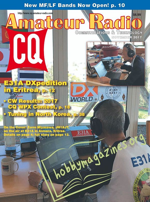 CQ Amateur Radio - November 2017