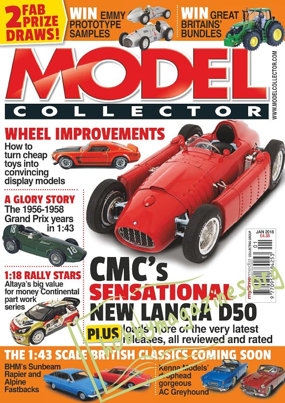 Model Collector - January 2018