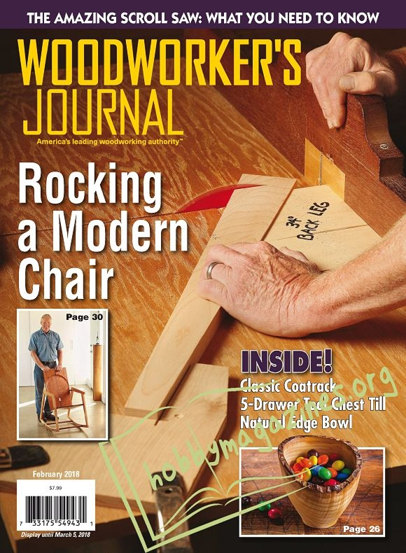 Woodworker's Journal - February 2018
