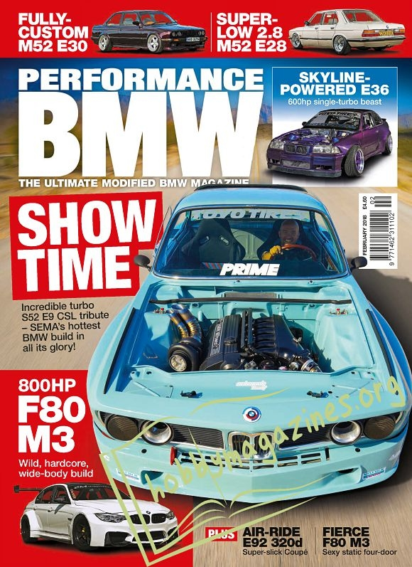 Performance BMW - February 2018