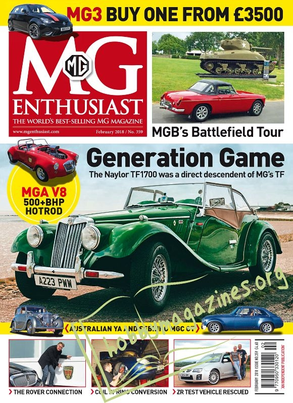 MG Enthusiast - February 2018