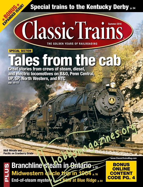 Classic Trains - Summer 2014