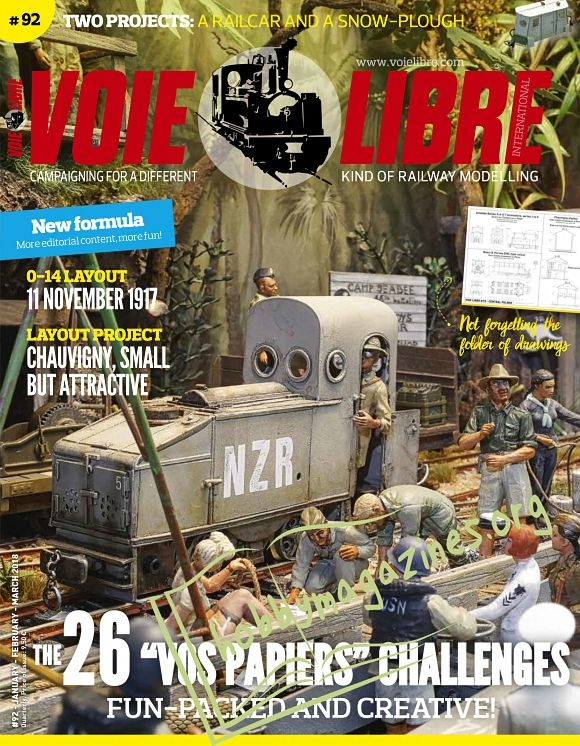Voie Libre 92 - January/February/March 2018