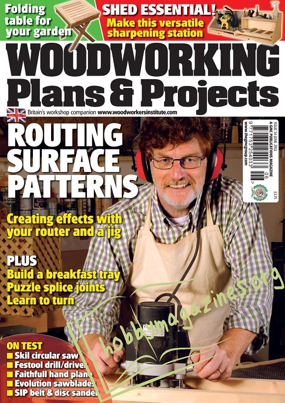 Woodworking Plans & Projects - June 2011