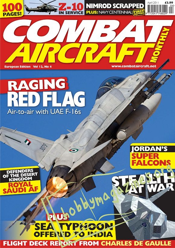 Combat Aircraft - April 2011