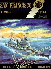 Heavy Cruiser CA 38 USS San Francisco