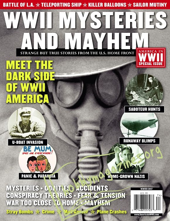 America in WWII Special - WWII Mysteries and Mayhem