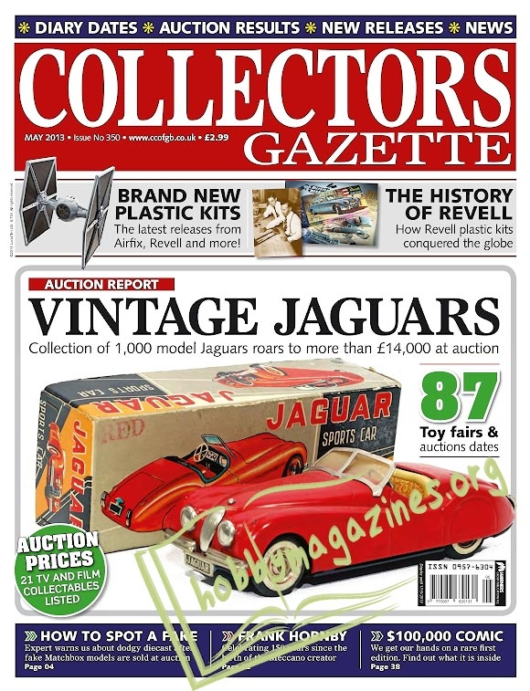 Collectors Gazette – May 2013