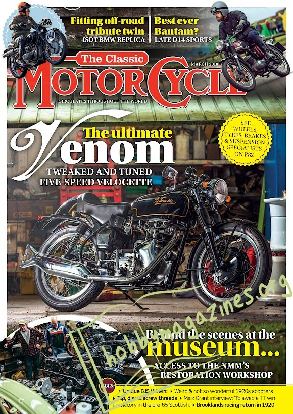 The Classic MotorCycle - March 2018