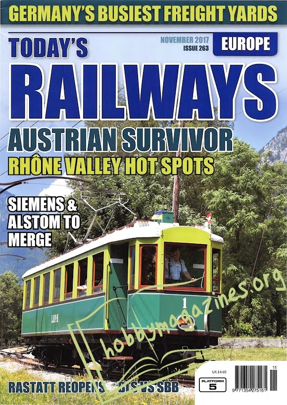 Todays Railways Europe - November 2017