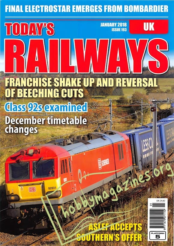 Todays Railways UK - January 2018