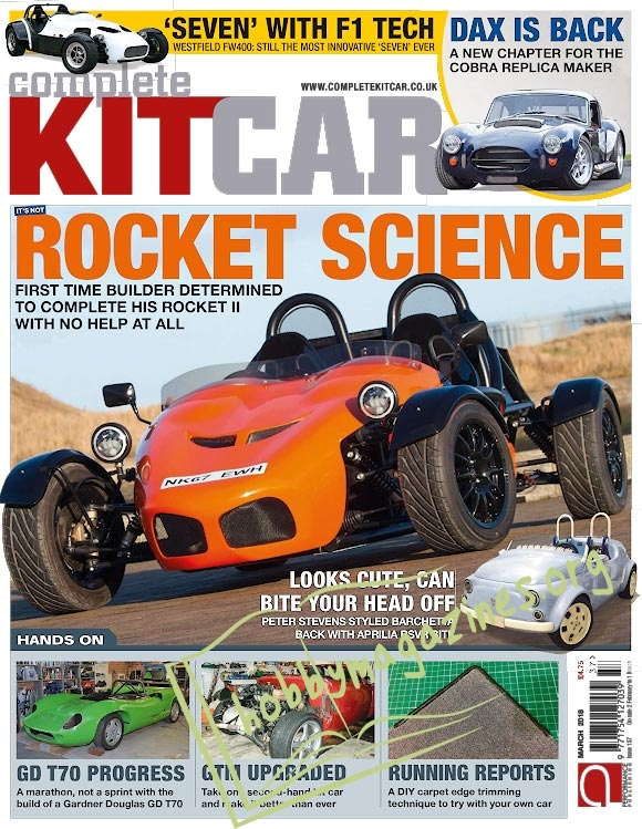 Complete Kit Car - March 2018