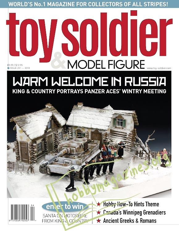 Toy Soldier & Model Figure 231 - April/May 2018
