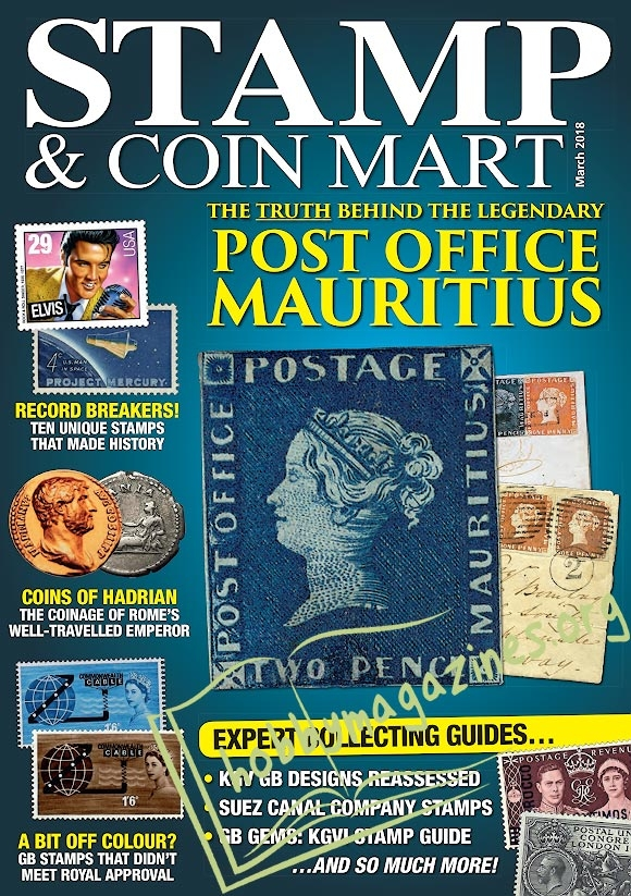 Stamp & Coin Mart - March 2018