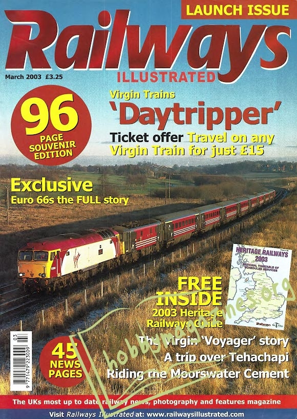 Railways Illustrated Iss.001 - March 2003
