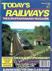 Todays Railways Europe Iss.001 - June/July 1994