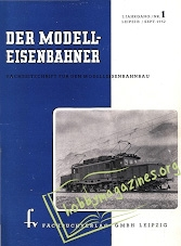 ModellEisenBahner 001 - September 1952