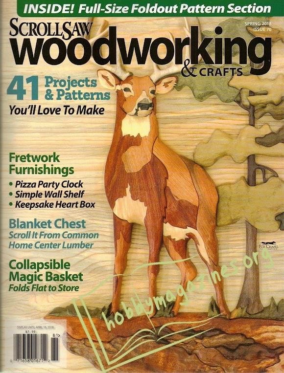 ScrollSaw Woodworking & Crafts 070 - Spring 2018