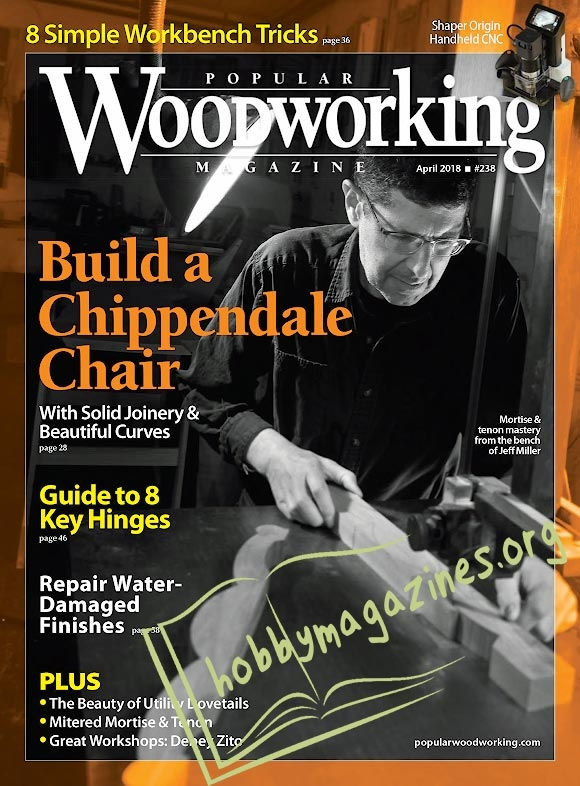 Popular Woodworking 238 - April 2018