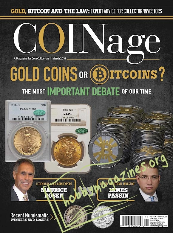 COINage - March 2018