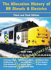 The Allocation History of BR Diesels and Electrics.Part 2