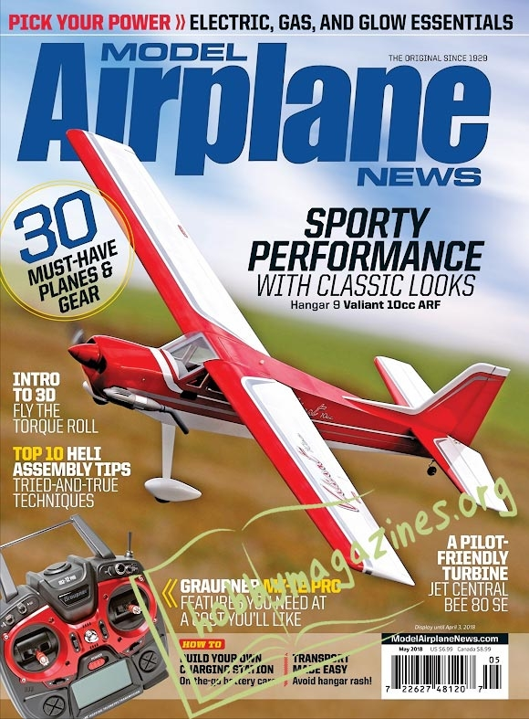 Model Airplane News - May 2018