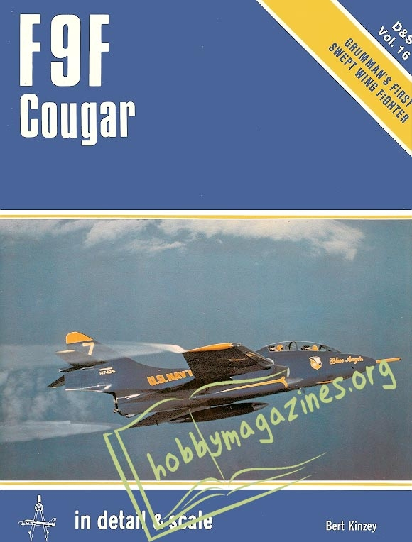 In Detail & Scale 16 - Grumman F9F Cougar