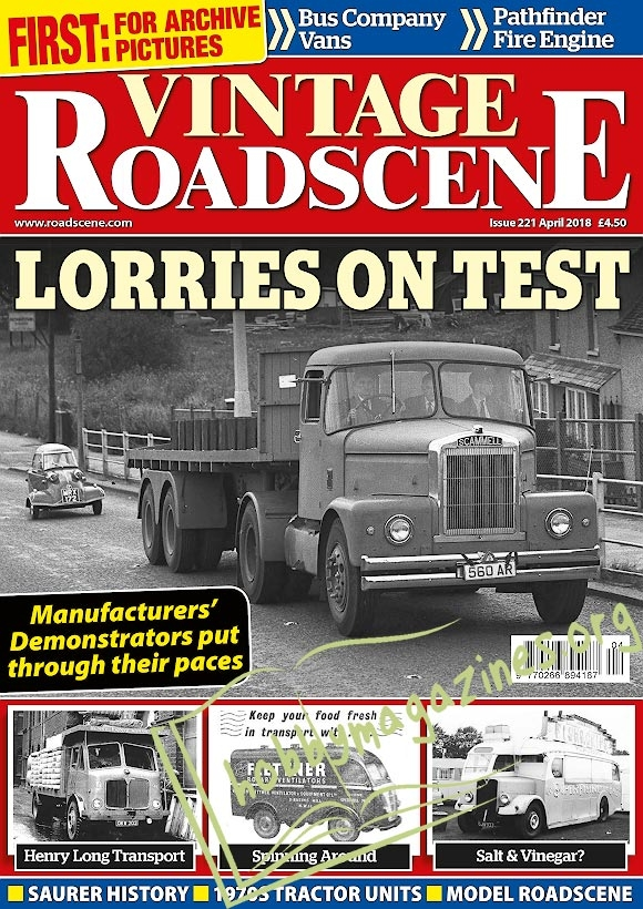 Vintage Roadscene - April 2018