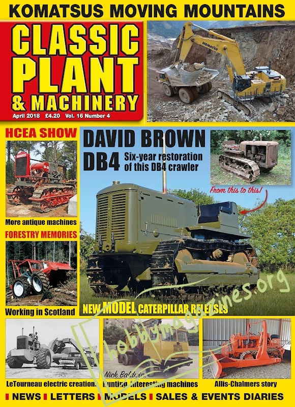 Classic Plant & Machinery - April 2018