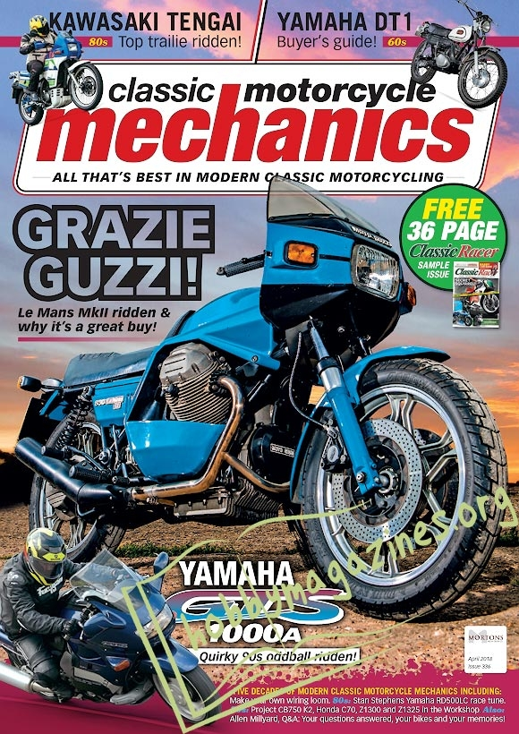 Classic Motorcycle Mechanics - April 2018