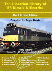 The Allocation History of BR Diesels and Electrics Part 6c the Final Update