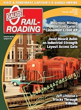 0 Gauge Railroading - February/March 2018