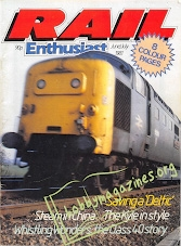 Rail Enthusiast Iss.002 - June/July 1981