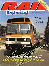 Rail Enthusiast Iss.003 - August/September 1981