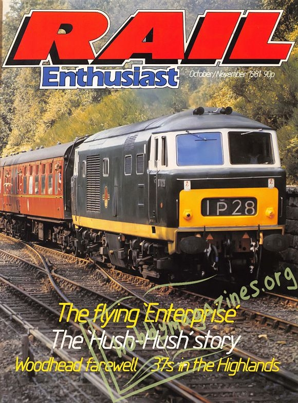 Rail Enthusiast Iss.004 - October/November 1981