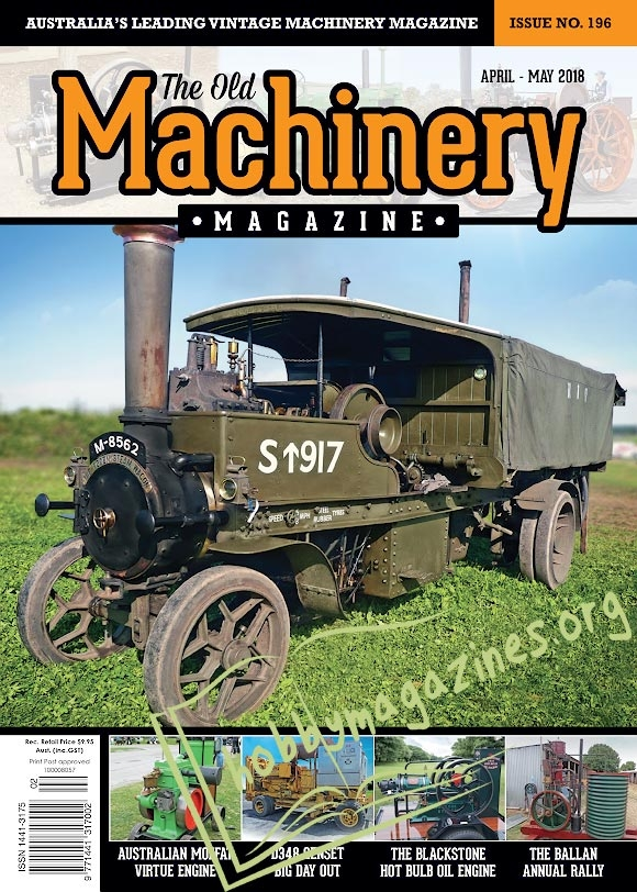 The Old Machinery - April-May 2018