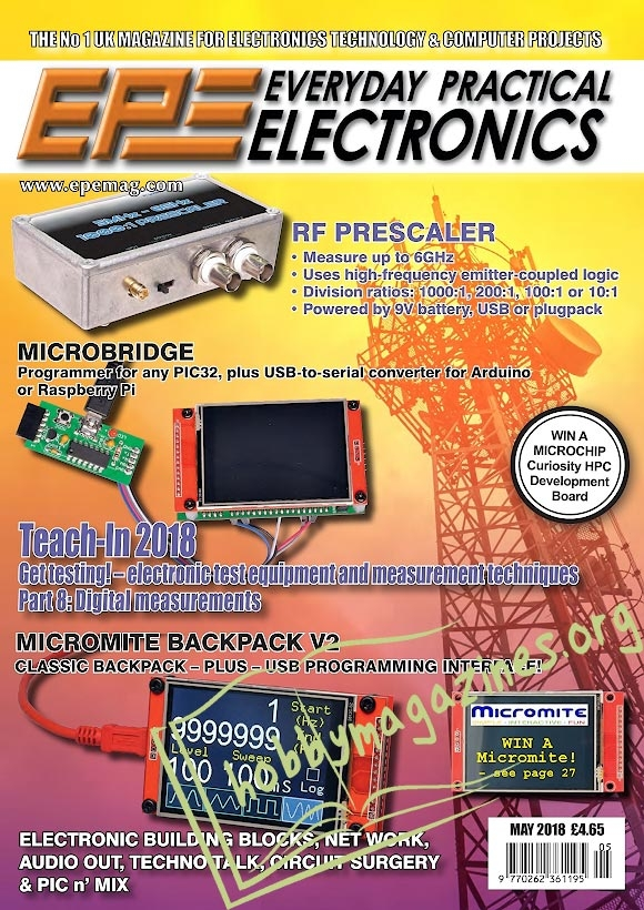 Everyday Practical Electronics - May 2018