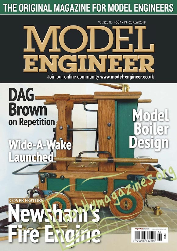 Model Engineer 4584 – 13-26 April 2018