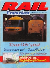 Rail Enthusiast Iss.005 - December/January 1982