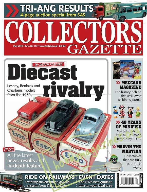 Collectors Gazette - May 2018