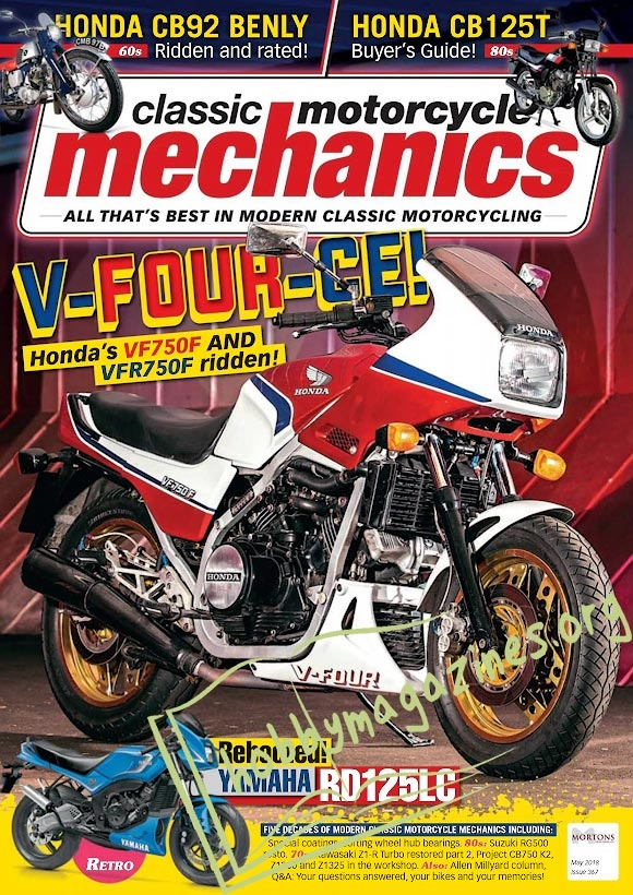 Classic Motorcycle Mechanics - May 2018