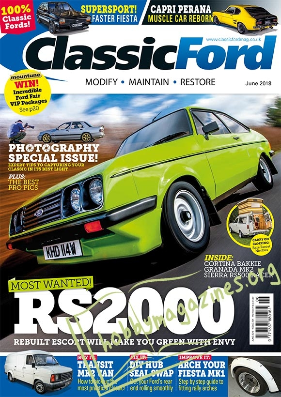 Classic Ford - June 2018