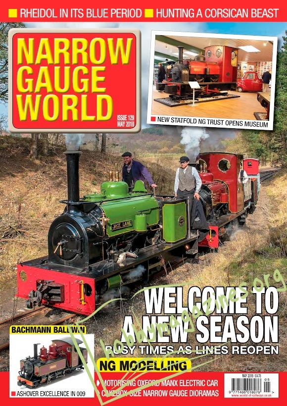 Narrow Gauge World 2018-05