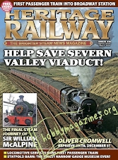 Heritage Railway 240 - April 06/May 03, 2018