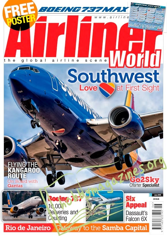 Airliner World – May 2018